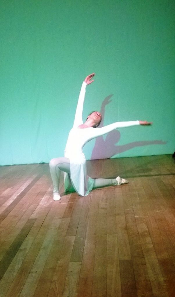 Arum lily in rehearsal